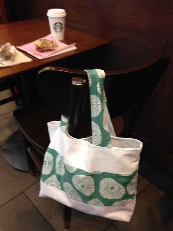 bag at starbucks