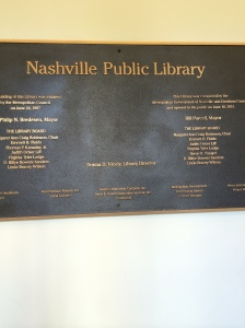 library in nashville